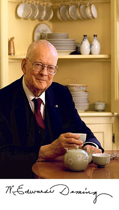 Deming The Man - The W. Edwards Deming Institute