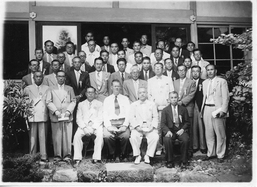 W. Edwards Deming with Japanese businessmen