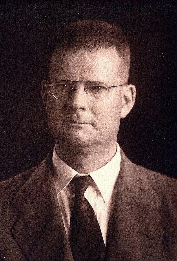 W. Edwards Deming portrait taken in Tokyo