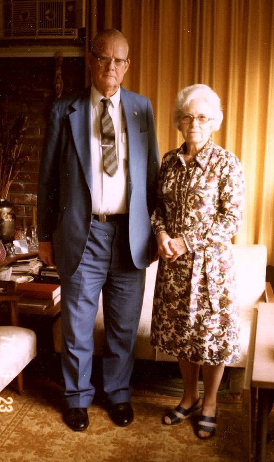 W. Edwards Deming with Lola (his wife)