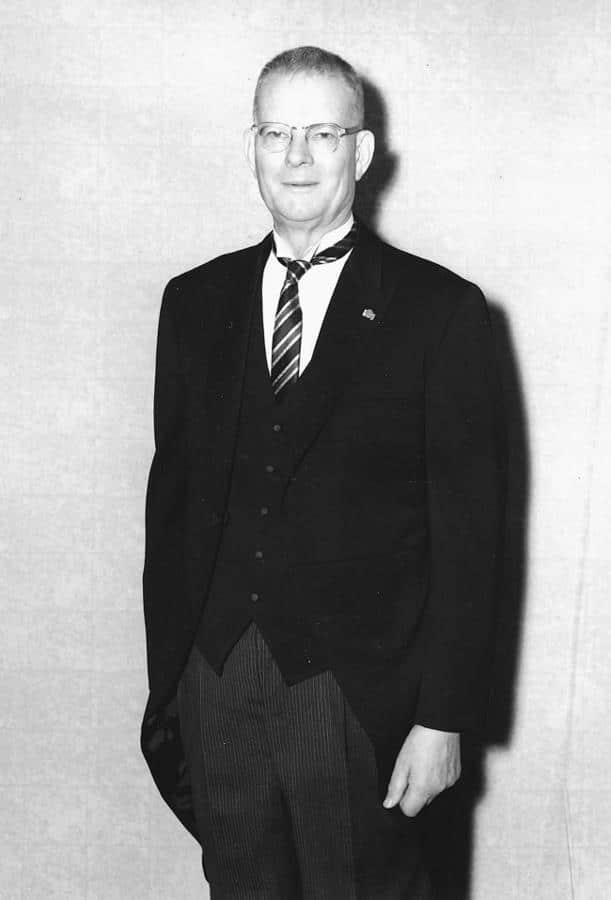 W. Edwards Deming in formal wear