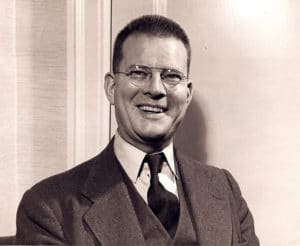 photo of W. Edwards Deming in the 1950s