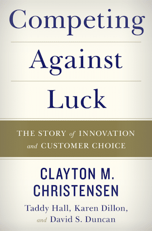 book cover for Competing Against Luck