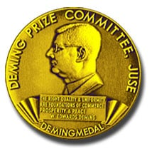 image of the Deming Prize medal