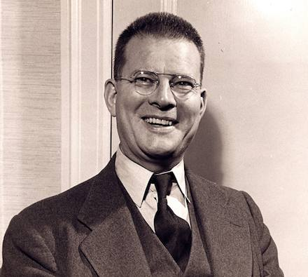photo of Dr. W. Edwards Deming from the 1950s.