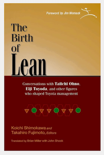 cover image of The Birth of Lean